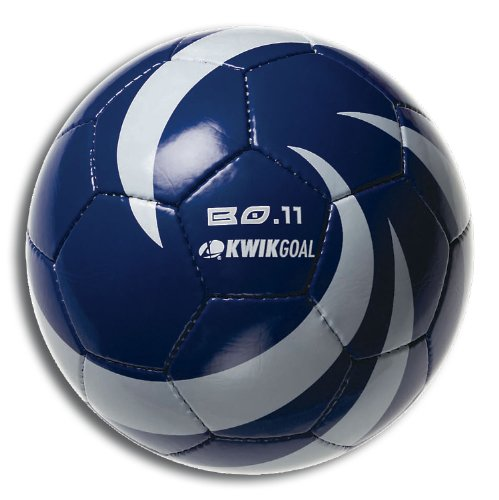Kwik Goal BO 11 Soccer Ball, Royal/White, Size-4