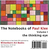 The Thinking Eye. The Notebooks of Paul Klee. Volume I. (0815001517) by Paul Klee