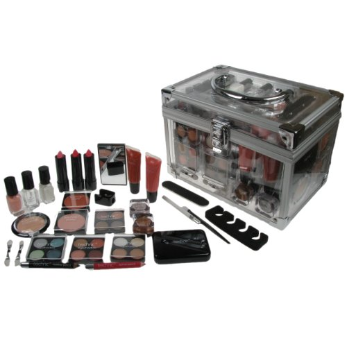 Technic Adorn & Adore Essential Cosmetics Clear Carry Case
