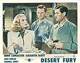 Desert Fury Original Lobby Card John Hodiak Lizabeth Scott Wendell Corey 1947