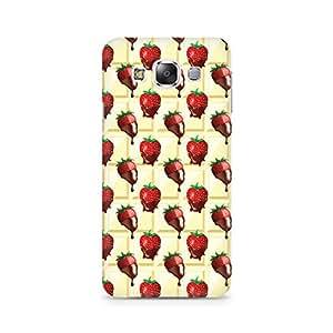 Ebby Strawberry Dip Premium Printed Case For Samsung E7