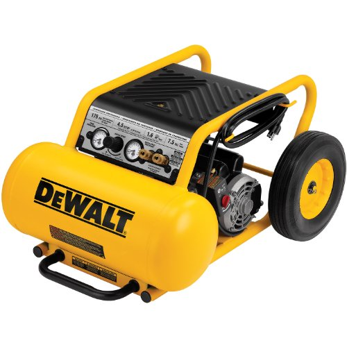 DEWALT D55371  1.6 Hp Continuous, 175 PSI, 7.5 Gallon Compressor with Dual Voltage and Dual Control