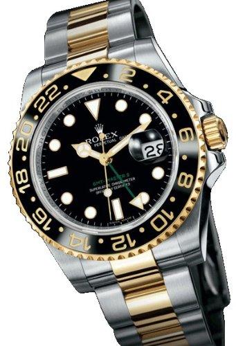 Rolex GMT Master II Steel/Gold Watch
