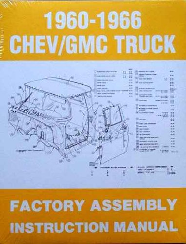 1960-1966 Chevy/GMC Truck Factory Assembly Instruction Manual (1966 Chevy Truck compare prices)