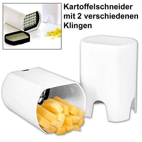 Kartoffel-Gemseschneider-mit-2-versch-Klingen-Pommesschneider-Kartoffelschneider-Pommes-Frites-Schneider-Schneidemaschine-Gemseschneider-Pommes-Frites-Kartoffel-Schneider-Gemseschneider-Pilzschneider-