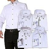 (アトリエサンロクゴ) atelier365  ワイシャツ 選べる6種類 5枚セット長袖 /at101-LL-43-84-AT101-Gset-SM