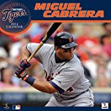 Turner - Perfect Timing 2014 Detroit Tigers Miguel Cabrera Player Wall Calendar, 12 x 12 Inches (8011529)