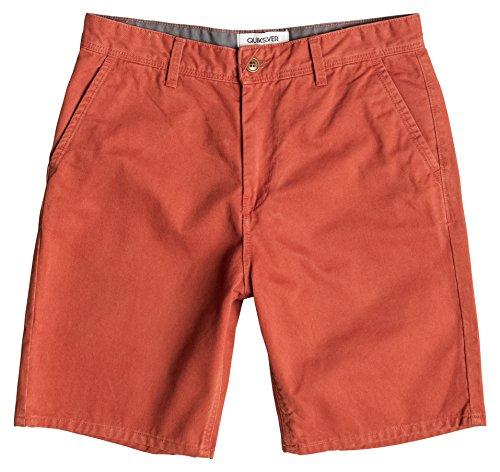 Pantaloncini Quiksilver tutti i giorni Chino Arancione Rooibos 34