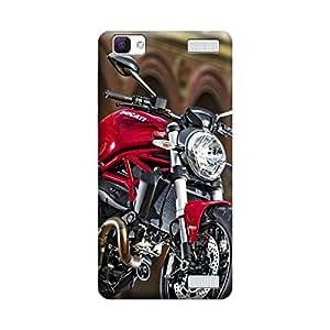CaseLite Premium Printed Mobile Back Case Cover With Full protection For Vivo V1 Max (Designer Case)