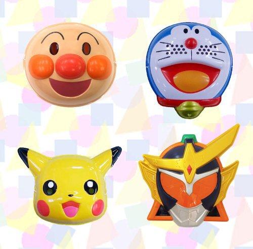 Your favorite set ( 4 species / Kamen Rider ) [anpanman / Doraemon / Pikachu / armor Takeshi ( Gaim ) オレンジアームズ] / fun toy (paper balloons).