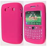 Pink Keypad Soft Silicone Rubber Case Cover For Blackberry Bold 9700 / Bold 9780 From My Fone UK