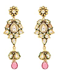 Akshim Multicolour Alloy Earrings For Women - B00NPYC2PE