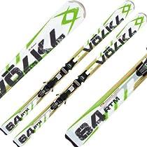 Volkl RTM 84 Skis 2013 w/ iPT Wideride 12.0 Bindings (176)