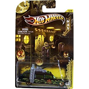 2012 Hot Wheels Halloween Cars (4/5) - Ghostbuster's Ecto-1