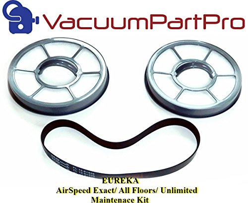 Eureka AirSpeed Exact/ All Floors/ Unlimited Maintenance Kit By Vacuum Part Pro For Models AS3008A, AS3011A, AS3030A, AS3033A (Eureka Airspeed Exact Belt compare prices)