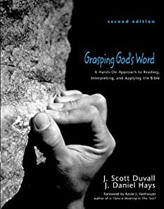 "Cover of ""Grasping God's Word: A Hands-On..."