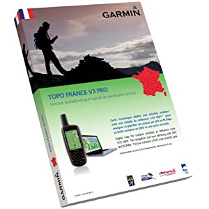 Garmin TOPO France v3 Pro Entire Country, 010-11244-01 (Entire Country DVD & microSDÙ/SDÙ)