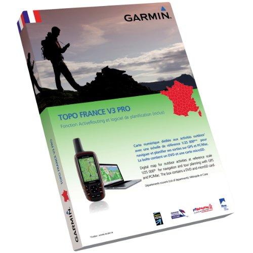 Garmin Topo France v3 Pro Cartes de randonnée numériques
