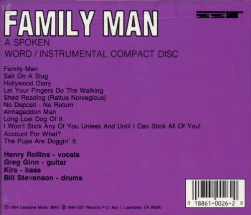 Original album cover of Family Man by Black Flag