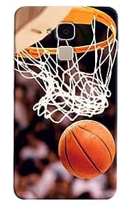 Omnam Basket Ball Net Printed Designer Back Cover Case For Huawei Honor 5C