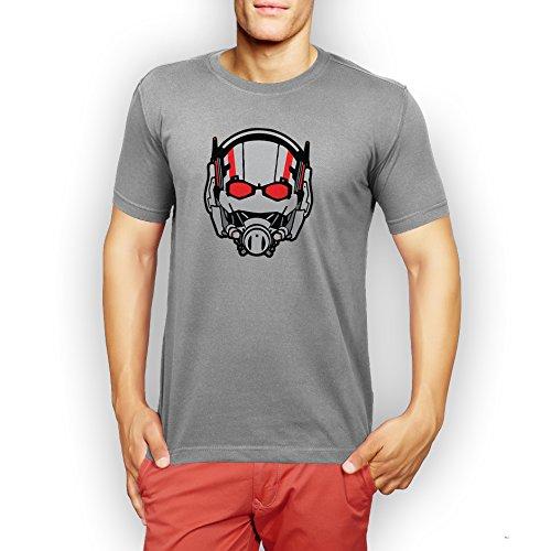 Ant Man Mask Large Uomini T-Shirt
