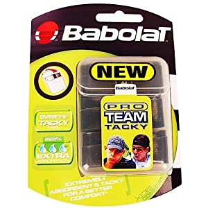 Buy Babolat Pro Team Tacky Tennis Racquet Overgrip 3 pack by Babolat