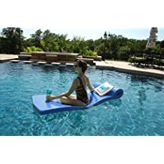 Ultra Sunsation Foam Pool Float (Metallic Blue) by TRC Recreation LP