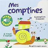 Mes comptines (Tome 1): 6 images à regarder, 6 comptines à écouter