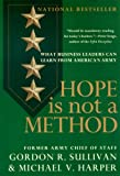 Book cover for Hope is Not a Method