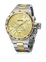 TW STEEL Reloj de cuarzo Man CB53 Gold/Silver