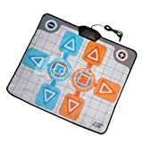 IColourful Dancing Dance Game Mats Play Mat Pad Revolution Controller for Wii