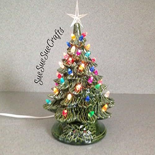 Amazon.com: CHRISTMAS DECORATION Vintage Style Ceramic