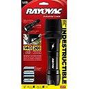 Rayovac DIY2D-B Virtually Indestructible 140 Lumen 2D LED Flashlight with Batteries