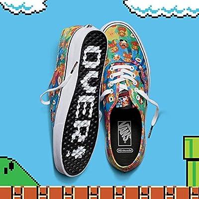 VANS[バンズ] ヴァンズ AUTHENTIC オーセンティック (Nintendo ニンテンド コラボ) SUPER MARIO BROS 靴 シューズ スニーカー (28cm)