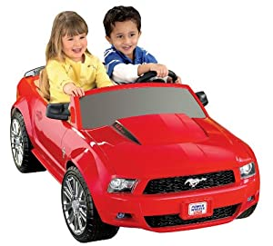 Amazon.com: Fisher-Price Power Wheels Ford Mustang: Toys & Games