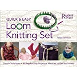 Quick & Easy Loom Knitting Setby Dennison Tessa