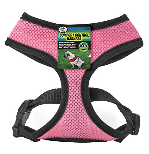 Four Paws Extra Small Pink Comfort Control Dog Harness