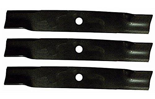 "3 Pack of Hi-Lift Blades for John Deere Mowers w/ 60"" 7 Iron Decks TCU15881"