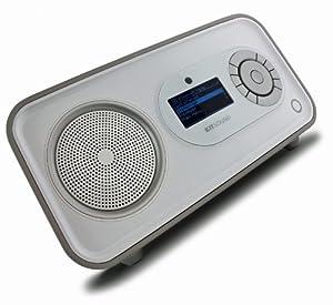 Kitsound KSPULSE Pulse Internet Radio with DAB - White/Silver