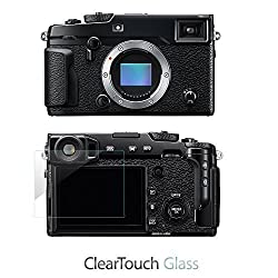 Fujifilm X-Pro2 Screen Protector, BoxWave [ClearTouch Glass] 9H Tempered Glass Screen Protection for Fujifilm X-Pro2