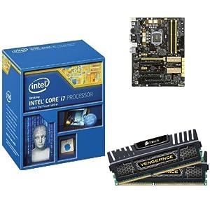 INTEL I5 4670K QUAD CORE CPU ASUS CSM MOTHERBOARD 16GB DDR3 MEMORY RAM COMBO KIT