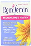 Remifemin Menopause Herbal Supplement, Estrogen Free, 120 Tablets