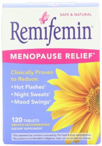 Remifemin Menopause Herbal End-piece, Estrogen Free, 120 Tablets