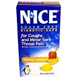 N'ICE Sugar Free Cough Suppressant/Oral Anesthetic Drops 24 ea