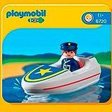 Playmobil 626170 - 1.2.3 Bote De Búsqueda-Rescate
