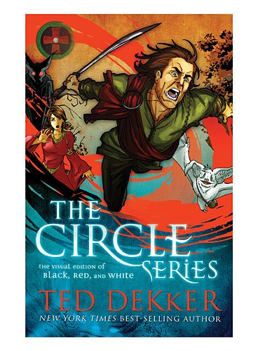 Cover of Circle Series Visual Edition: Black, Red, and White Graphic Novels (The Circle Series)