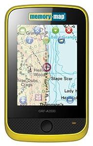 Memory-Map Adventurer 3500 GPS - Marine -Yellow/Black