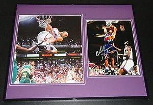 Signed Barkley Photograph - Framed 16x20 Set Suns Auburn Rockets - Autographed NBA... by Sports+Memorabilia