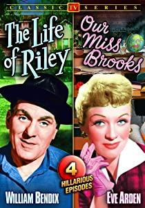 Life of Riley (1949-53) / Our Miss Brooks (1953) (Double Feature / Four Episode Edition) from Alpha Home Entertainment