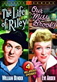 Cover art for  Life of Riley (1949-53) / Our Miss Brooks (1953) (Double Feature / Four Episode Edition)